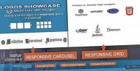 Logos showcase multi use plugin wp responsive