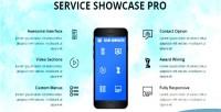 Showcase services wordpress plugin