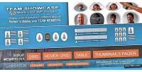 Showcase team wordpress plugin