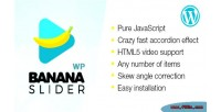 Bananaslider wp video slider effect accordion with