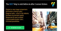 Before after image slider composer visual for