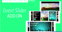 Booking event pro addon slider event