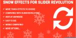Effects snow revolution slider for