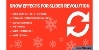 Effects snow revolution slider for