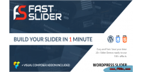 Fast slider easy & fast slider wordpress for plugin