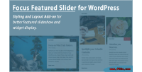 Focus wordpress featured slider on add styling