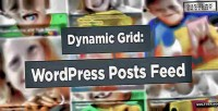Grid dynamic wordpress slider feed posts