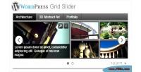 Grid wordpress slider plugin