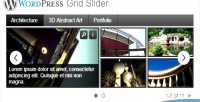 Grid wordpress slider plugin