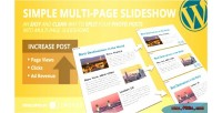 Multi simple page slideshow