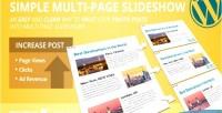 Multi simple page slideshow