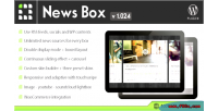 News box wordpress contents viewer & slider