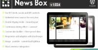 News box wordpress contents viewer & slider