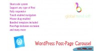 Post wordpress page carousel