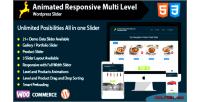 Responsive animated multi slider wordpress level