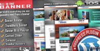 Rotator banner content plugin wordpress slider