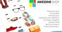 Shop awesome grid catalog premium