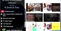 Slick wp slider pro & carousel image