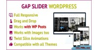 Slider gap responsive slider for wordpress works that with wp images, posts