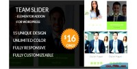 Slider team team member elementor showcase wordpress for addon