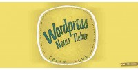 Soda cream responsive ticker news wordpress