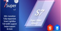 Super 7 responsive wordpress plugin slider image