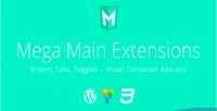 Tabs sliders toggles addons composer visual