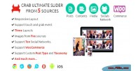 Ultimate crab slider sources five from