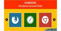 Wordpress icarousel carousel slider