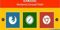 Wordpress icarousel carousel slider