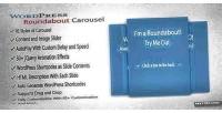 Wordpress roundabout plugin slider carousel