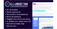 Tab everest responsive wordpress tab for plugin