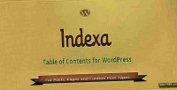 Table indexa of wordpress for contents