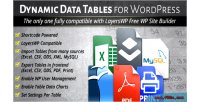 Dynamic tables input from csv mysql xls dynamic