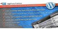 Easy wpdatatables wordpress in tables