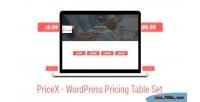 Material design wordpress pricing plugin set table material