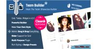 Team builder meet the plugin wordpress team