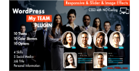 Team my plugin wordpress showcase