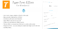 Text type wordpress for effect