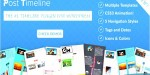 Timeline post wordpress plugin