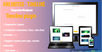 Timeline unlimited plugin wordpress responsive