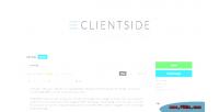Wordpress clientside admin theme