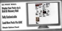 Wordpress ez post wall