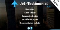 Wordpress jet testimonial