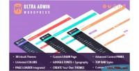 Wordpress ultra admin theme