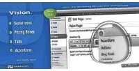 Wordpress vision shortcodes plugin