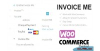 Invoice woocommere me customers selected for