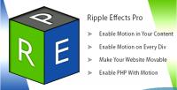 Lazyload ripple scrolling plugin wordpress effects
