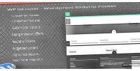 Lefooter wp wordpress plugin footer slideup