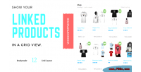 Linked woocommerce products grid